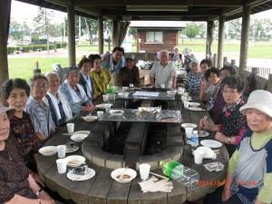 8月の昼食交流会写真1